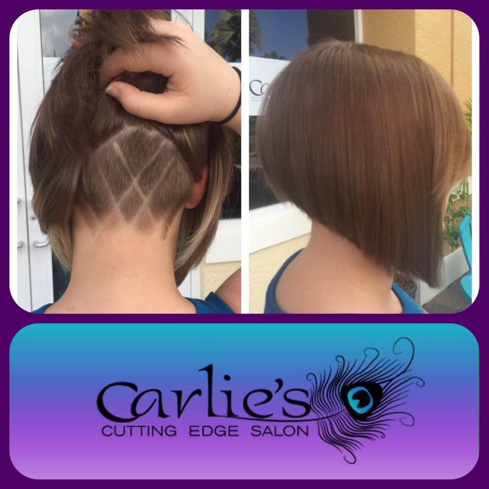 Pic of the day carlie 39 s cutting edge salon spa for A cutting edge salon