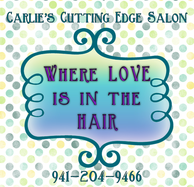 Love is in the hair carlie 39 s cutting edge salon spa for A cutting edge salon