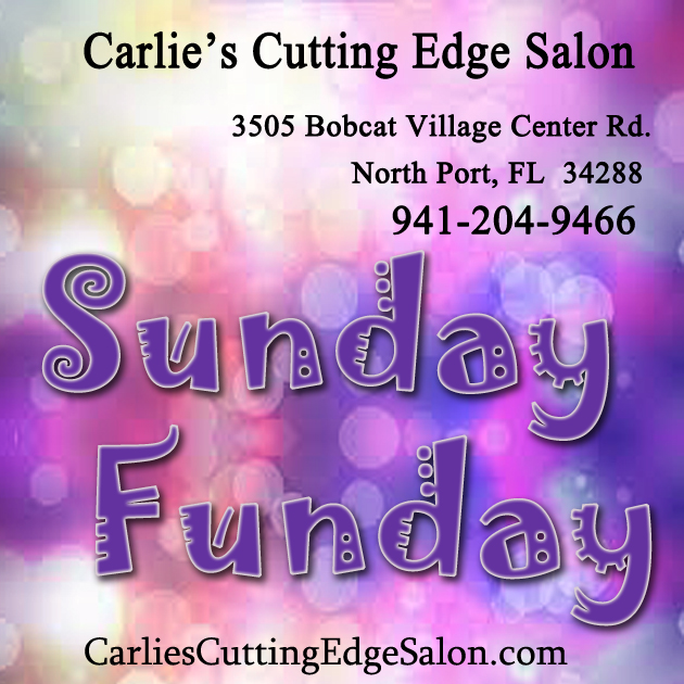 Sunday funday carlie 39 s cutting edge salon spa for A cutting edge salon